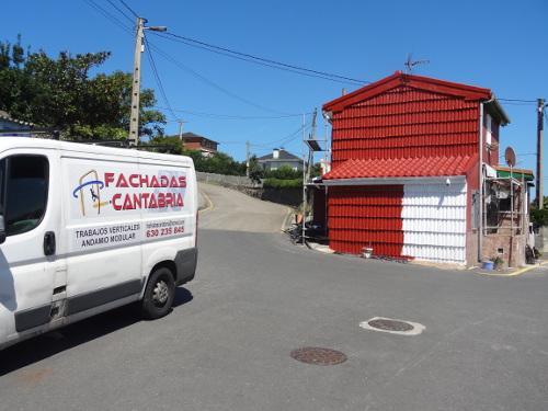 Fachadas Cantabria Saneamiento