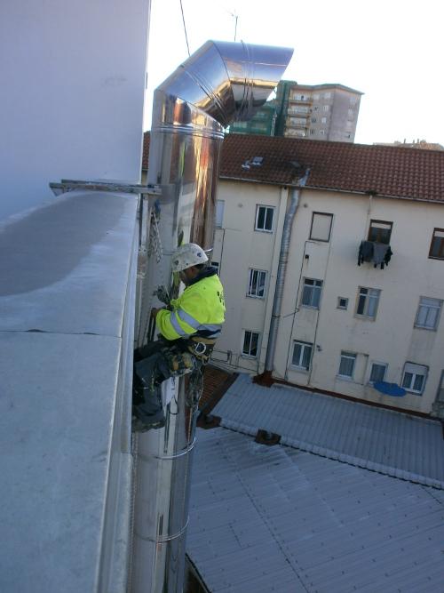 Fachadas Cantabria Salidas de extracción