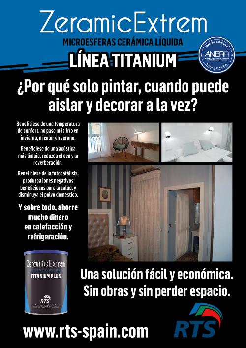 Fachadas Cantabria Titanium plus